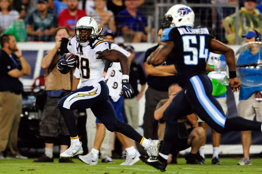Chargers Vs Titans Looking Back On Who The Titans Used To Be