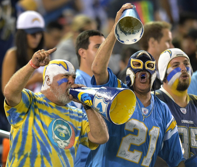 San Diego Chargers Bolt: Chargers Fans: Here's A Chance To Be FanSided's Fan Of The
