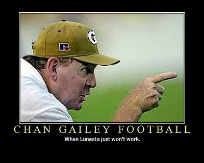 Chan Gailey football (Flickr)