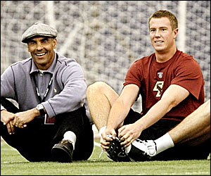 Herm and Matt Ryan (SI.com)