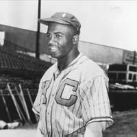 Jackie Robinson as a Kansas City Monarch