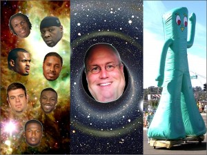Stars Black Holes and Gumby Lives 5