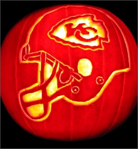 Chiefs Pumpkin