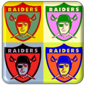 Raiders colorful logo
