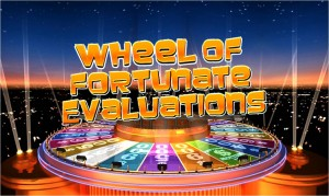 Wheel Of Fortunate Evaluations LOGO