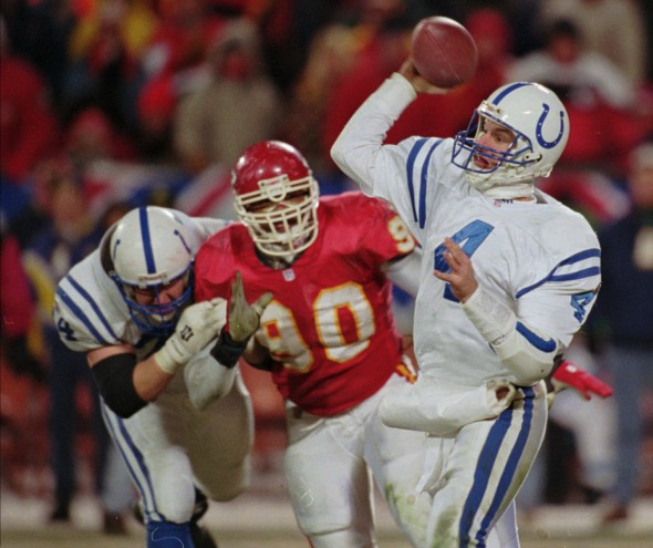 1995: Indianapolis Colts 10, Kansas City Chiefs 7