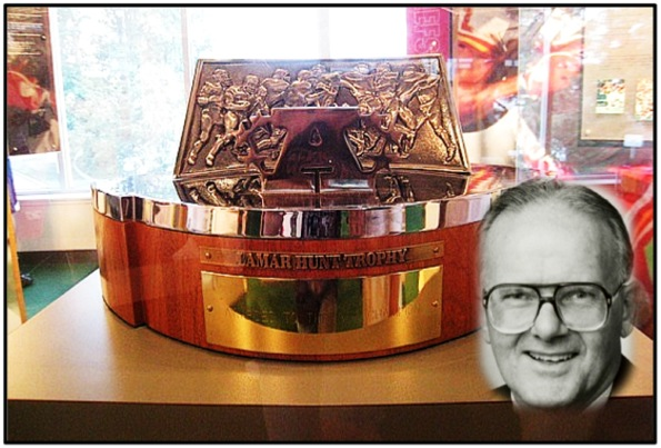 Lamar Hunt and Trophy