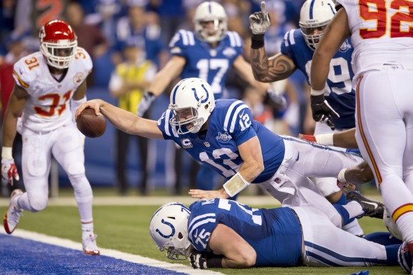 NFL: CHIEFS V COLTS WILD CARD GAME