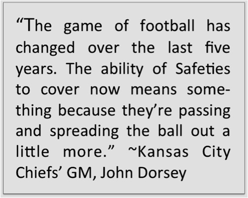Safeties quote Dorsey