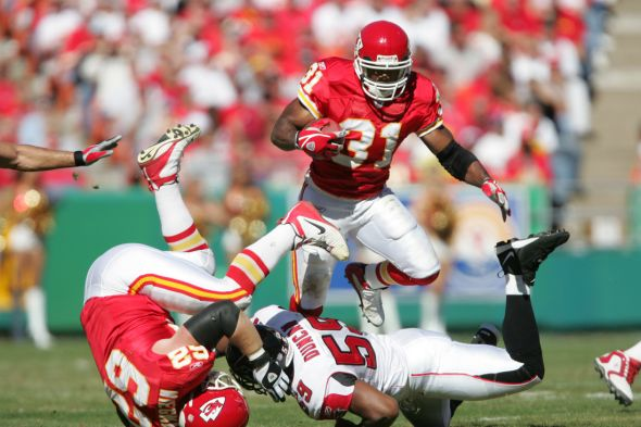2004 NFL: Atlanta Falcons at Kansas City Chiefs
