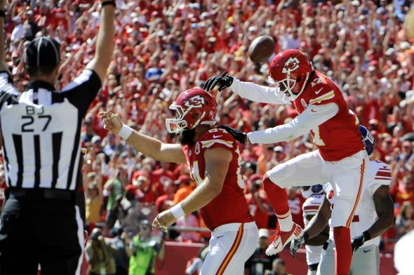 NFL: New York Giants at Kansas City Chiefs