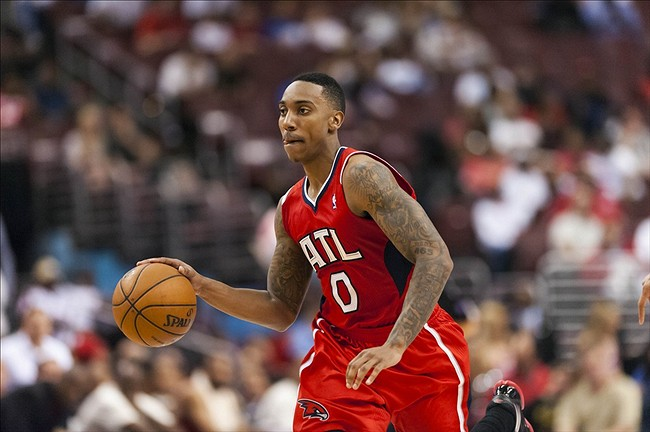 Jeff Teague could have a huge year. Credit: Howard Smith-USA TODAY Sports