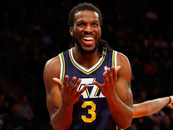 New Atlanta Hawks small forward DeMarre Carroll ranks 302 on ESPN's 2013 NBA Player Rankings list. (Getty Images)