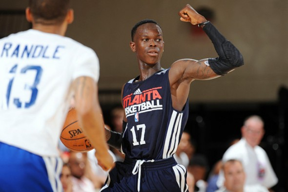 Hawks rookie point guard Dennis Schroeder ranks 258 in ESPN's 2013 NBA Player Rankings list (Photo Credit to Sports Illustrated)
