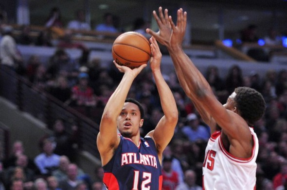 John Jenkins will make his preseason debut for the Atlanta Hawks tonight against the Indiana Pacers (Photo Credit: USA TODAY Sports)