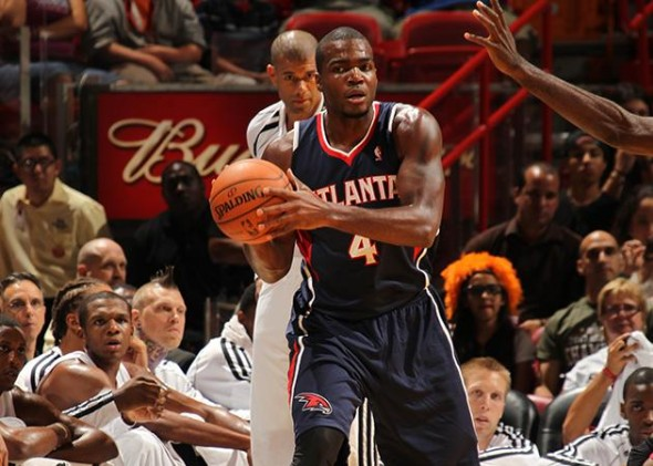 Paul Millsap will miss the final two games of the preseason due to a sore Achilles (Issac Baldizon/NBAE/Getty Images)