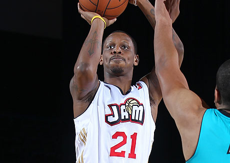 James Nunnally averaged 10.3 points per game in his rookie season with Bakersfield, including a 33-point performance in the season finale.