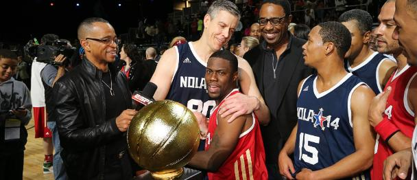 Comedian Kevin Hart was fan-voted MVP, but Secretary of Education Arne Duncan was the game's true MVP.
