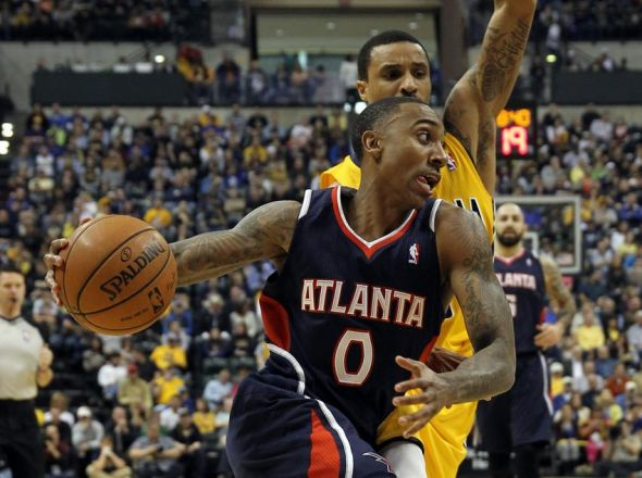 george-hill-jeff-teague-nba-atlanta-hawks-indiana-pacers