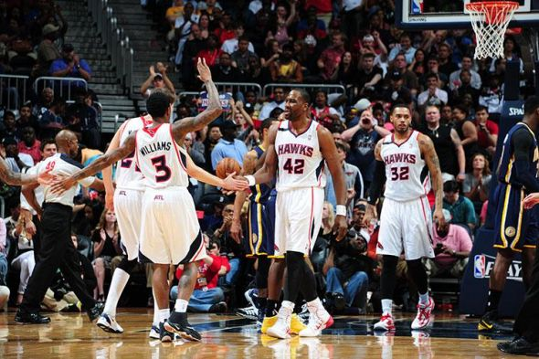 Hawks lead the series 2-1 over the Pacers. (Photo Credit: Scott Cunningham/Kevin C.Cox)