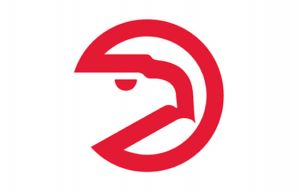 old hawks pac man logo