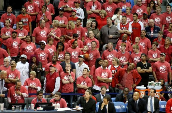 Atlanta Hawks Crowd
