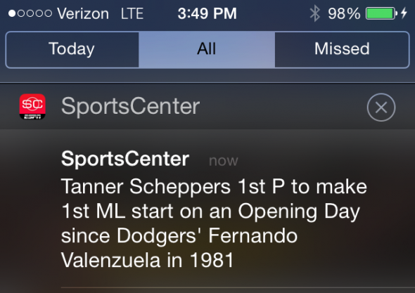Tanner Scheppers will debut as a starting pitcher on opening day.