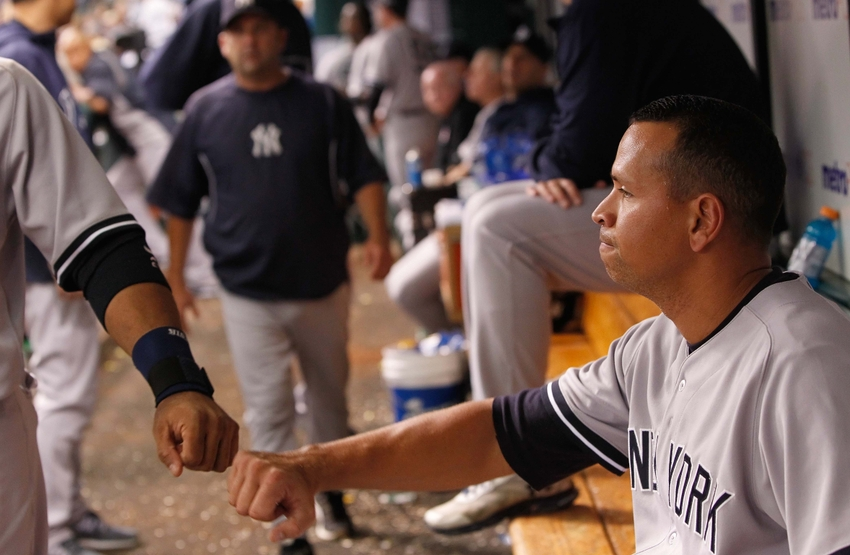 How bad is former texas rangers alex rodriguez