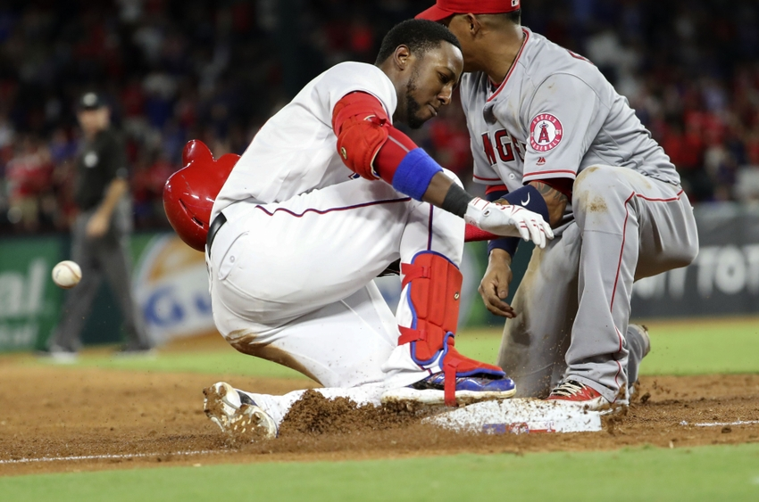 9556555-jurickson-profar-yunel-escobar-mlb-los-angeles-angels-texas-rangers