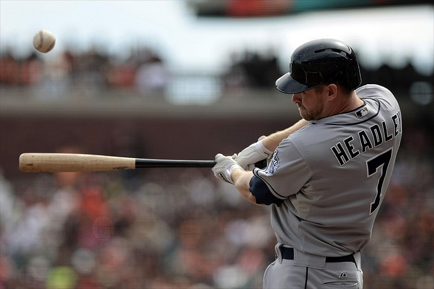 San Diego Padres third baseman Chase Headley. Credit: Kelley L Cox-USA TODAY Sports