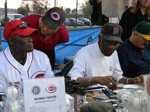 George Foster, Mudcat Grant, and Rollie Fingers