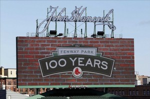 Fenway Park, home of the Boston Red Sox, is creeping up on its 100th birthday. Credit: Greg M. Cooper