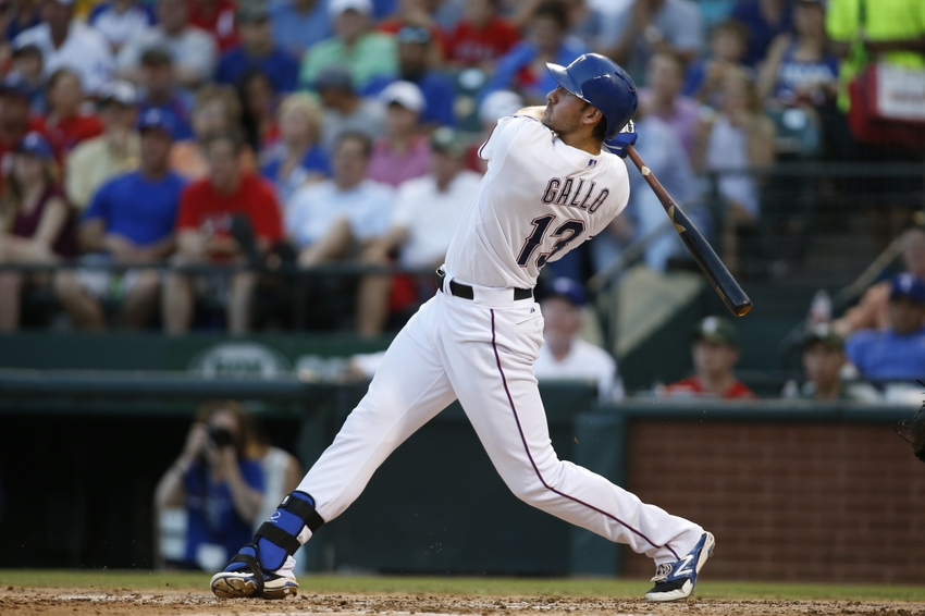 Texas Rangers: Joey Gallo Not Yet Ready for Prime Time