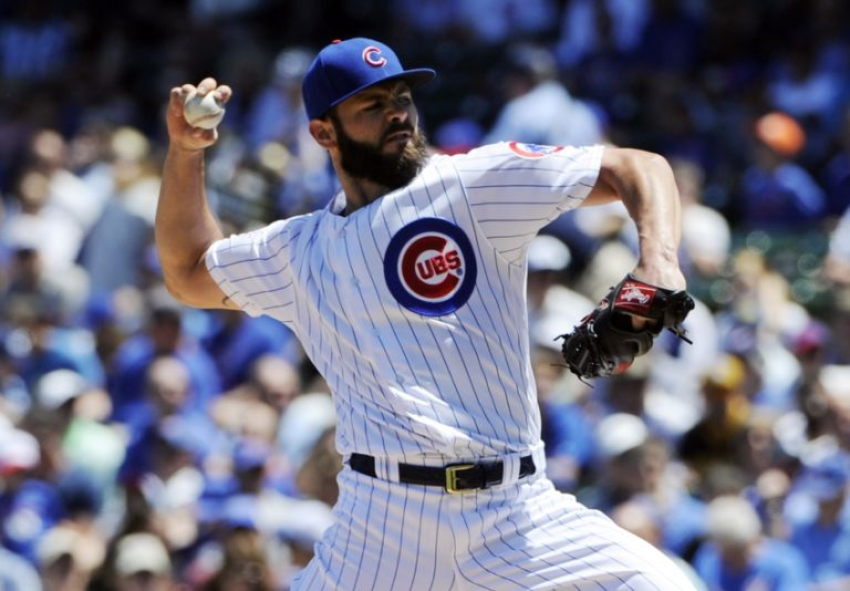 Chicago cubs 39 jake arrieta loses cws bet must get a tattoo for Jake arrieta tattoo