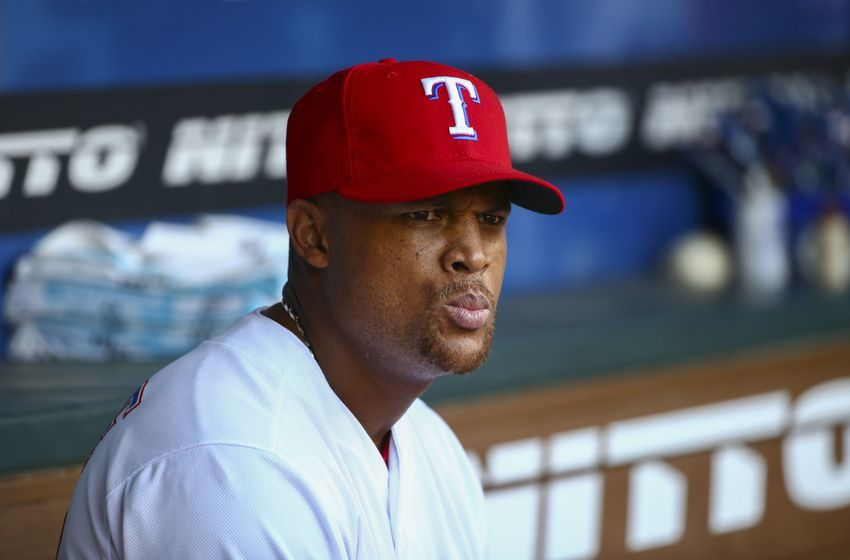 Sep 29, 2015; Arlington, TX, USA; Texas Rangers third baseman Adrian Beltre (29) before the game against the Detroit Tigers at Globe Life Park in Arlington. Mandatory Credit: Kevin Jairaj-USA TODAY Sports