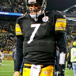 Pittsburgh Steelers' QB, Ben Roethlisberger
