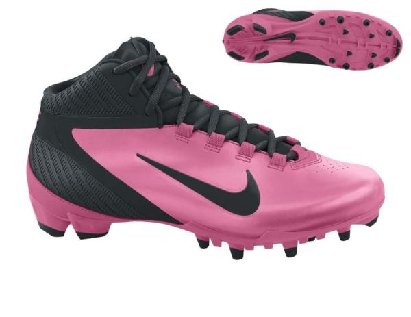 breast cancer awareness football accessories