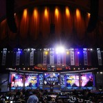 Apr 26, 2012; New York, NY, USA; A general view of the 2012 NFL Draft at Radio City Music Hall. Mandatory Credit: James Lang-US PRESSWIRE