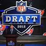 Apr 26, 2012; New York, NY, USA; NFL commissioner Roger Goodell during the 2012 NFL Draft at Radio City Music Hall. Mandatory Credit: James Lang-US PRESSWIRE