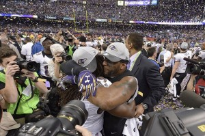 Two of the faces Ravens fans won't see come the 2013 season: LBs Ellerbe and Lewis