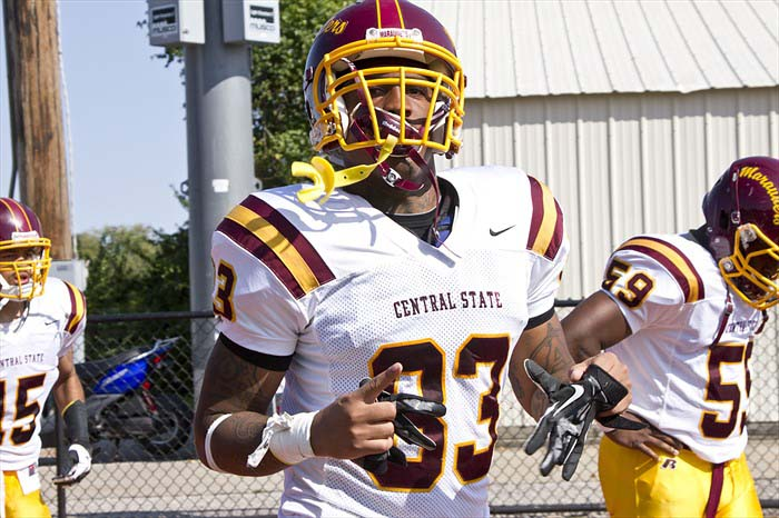 Dayvon Ross during his time at Central State University