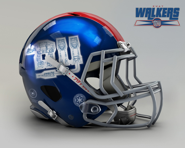 New York Giants re-designed to New York Walkers