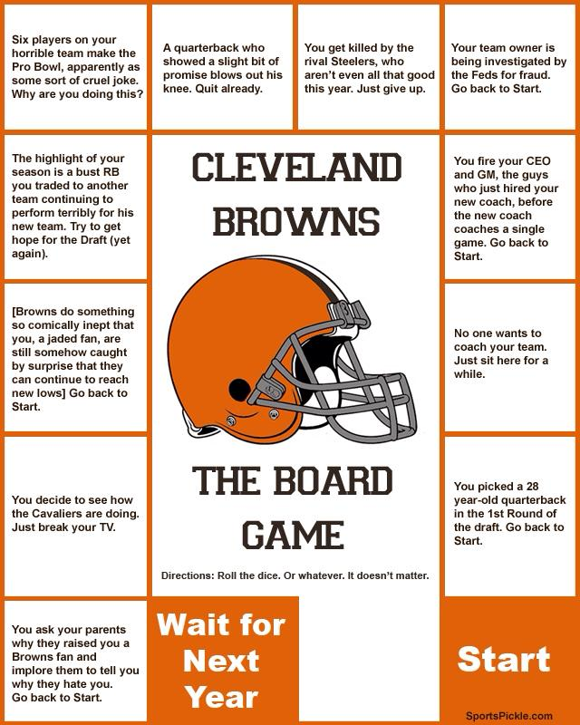 Cleveland Browns board game. H/T Reddit