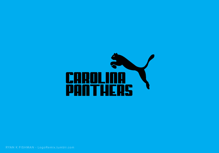Carolina Panthers mixed with Puma