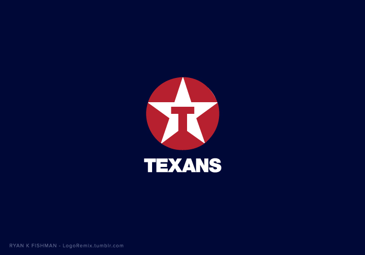 Houston Texans mixed with Texaco