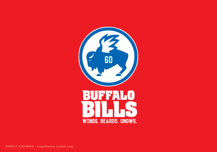 Buffalo Bills mixed with Buffalo Wild Wings