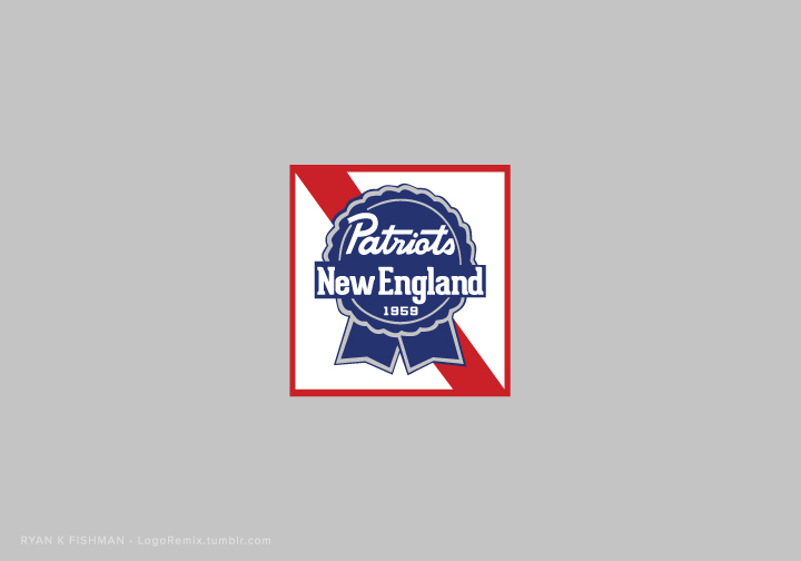 New England Patriots mixed with Pabst Blue Ribbon