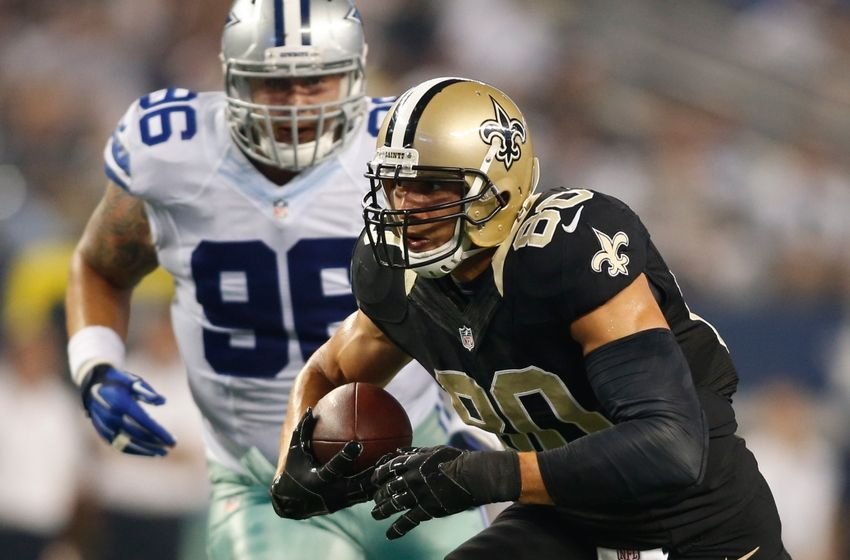 Jimmy Graham Injury Saints Te A Game Time Decision