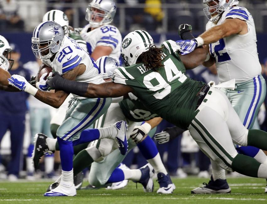 NFL Jersey's Youth New York Jets Sheldon Richardson Pro Line Team Color Jersey