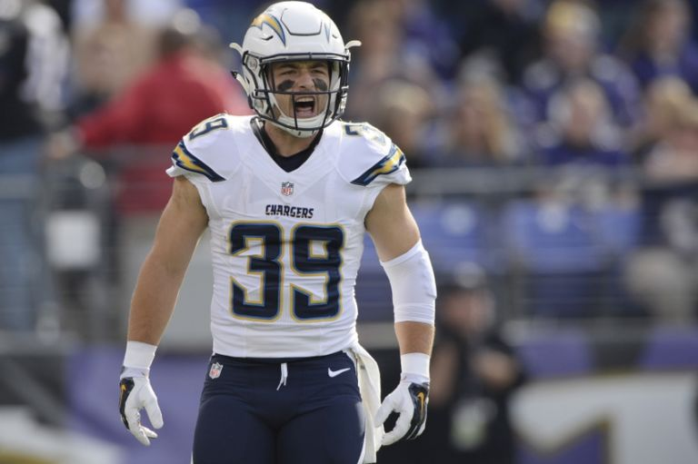San Diego Chargers Profiling No 39 Danny Woodhead